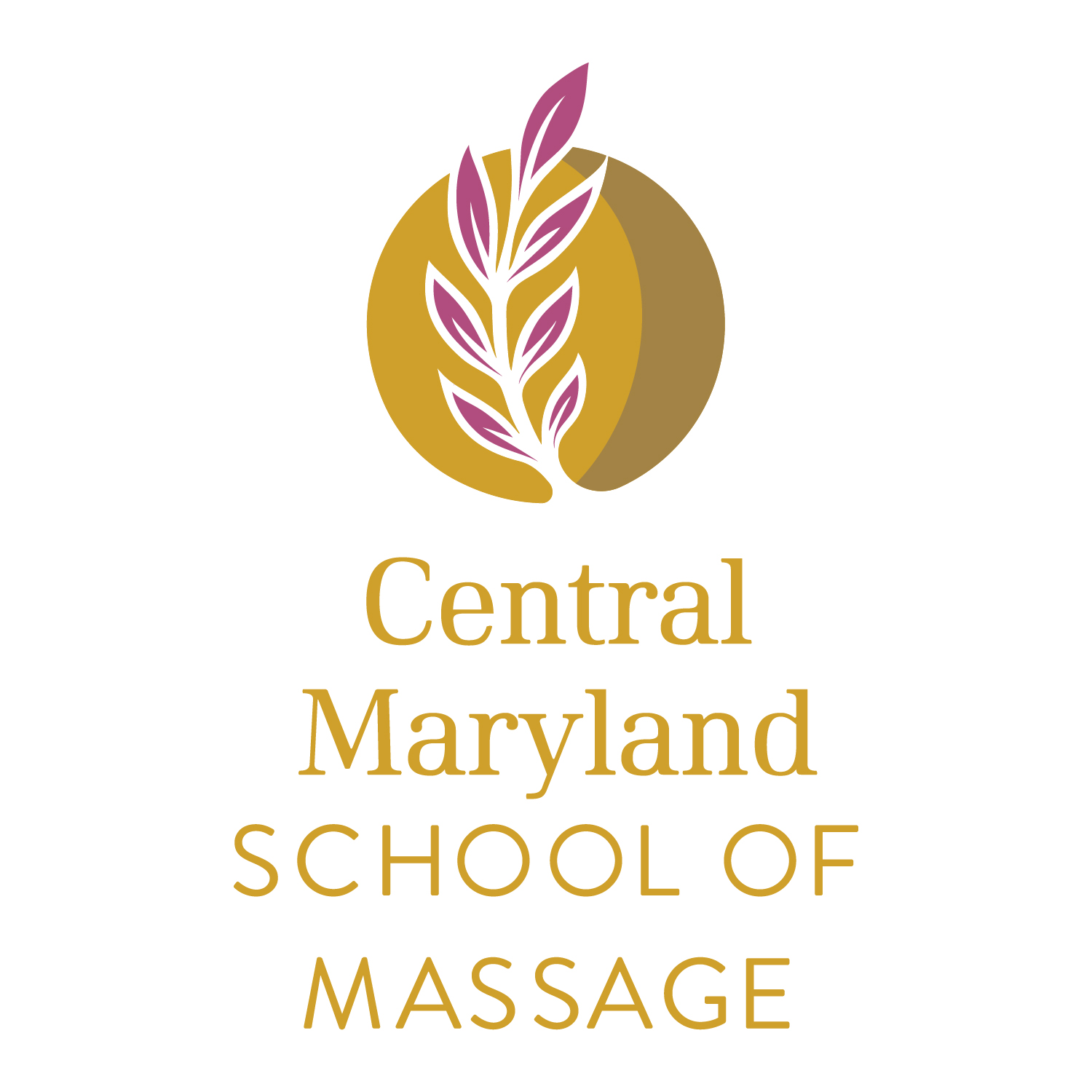 Central Maryland School of Massage Logo