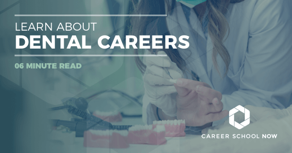 Dental Careers - Dental Hygienist, Assistant, Lab Technician