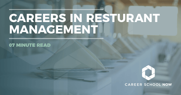 Restaurant Manager - Learn About Training, Jobs & Salary