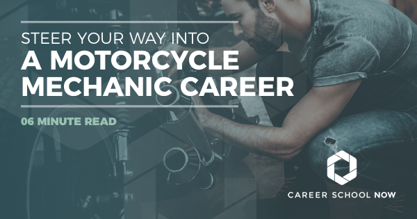 Steer Your Way Into A Motorcycle Mechanic Career