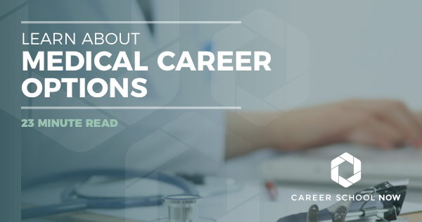 Medical Careers: 20 Different In Demand Certificate & Degree Programs