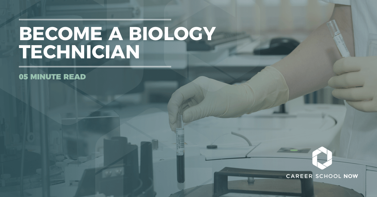 become a biology technician  training  job description