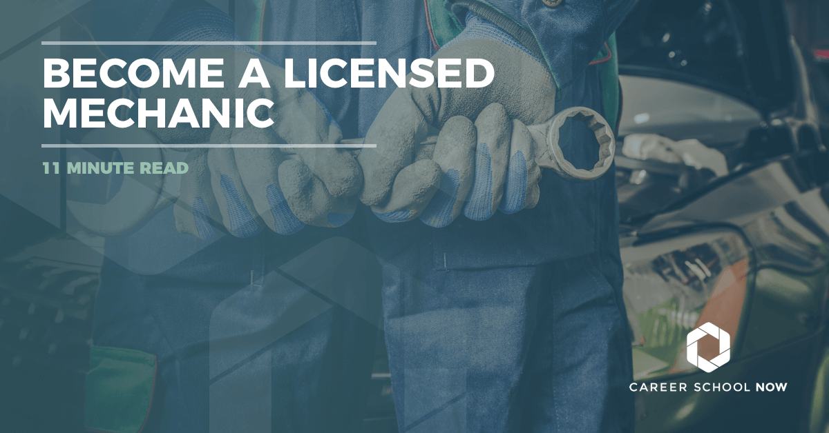 How To Become A Licensed Auto Mechanic
