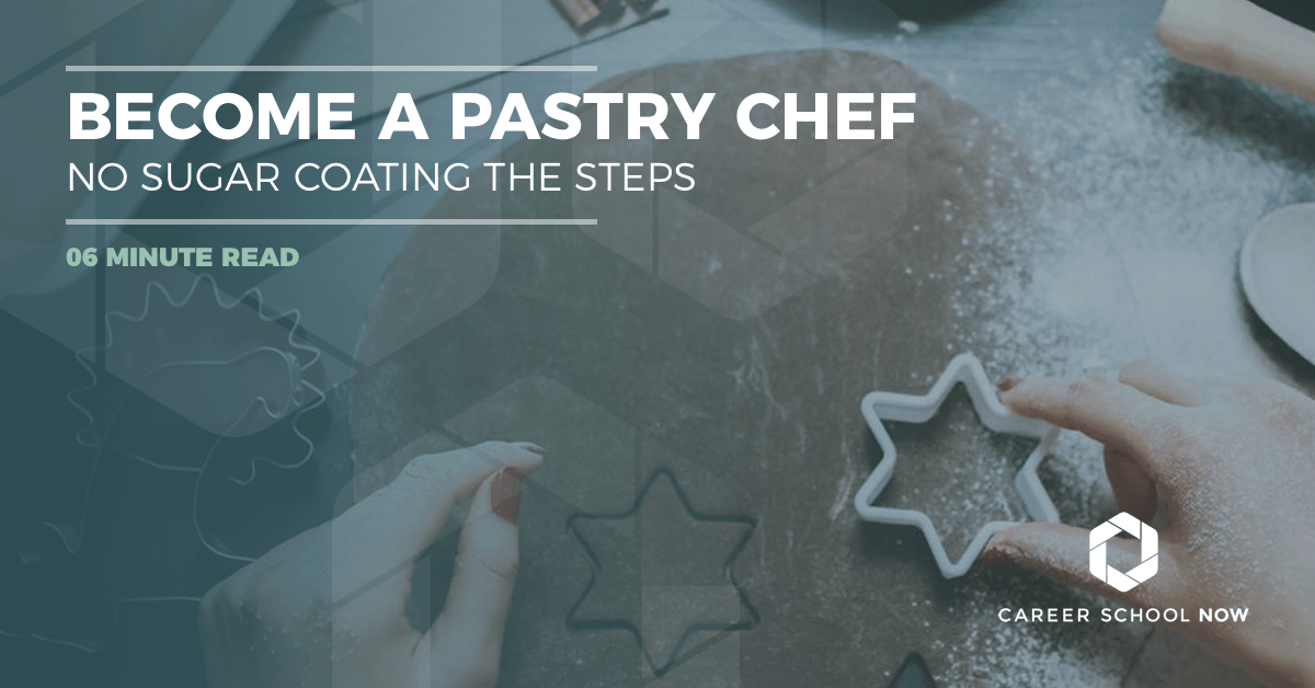 How to become a pastry chef