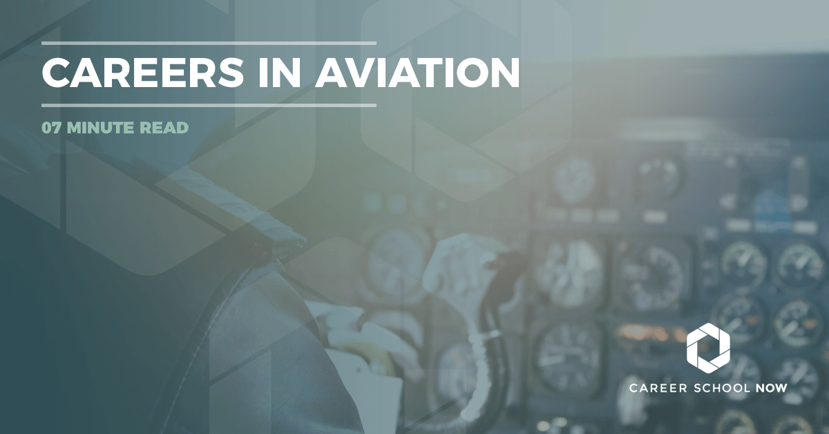 careers in aviation--from flight attendant to pilot career information