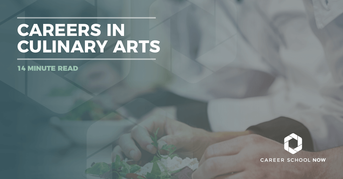 The many career options in culinary arts