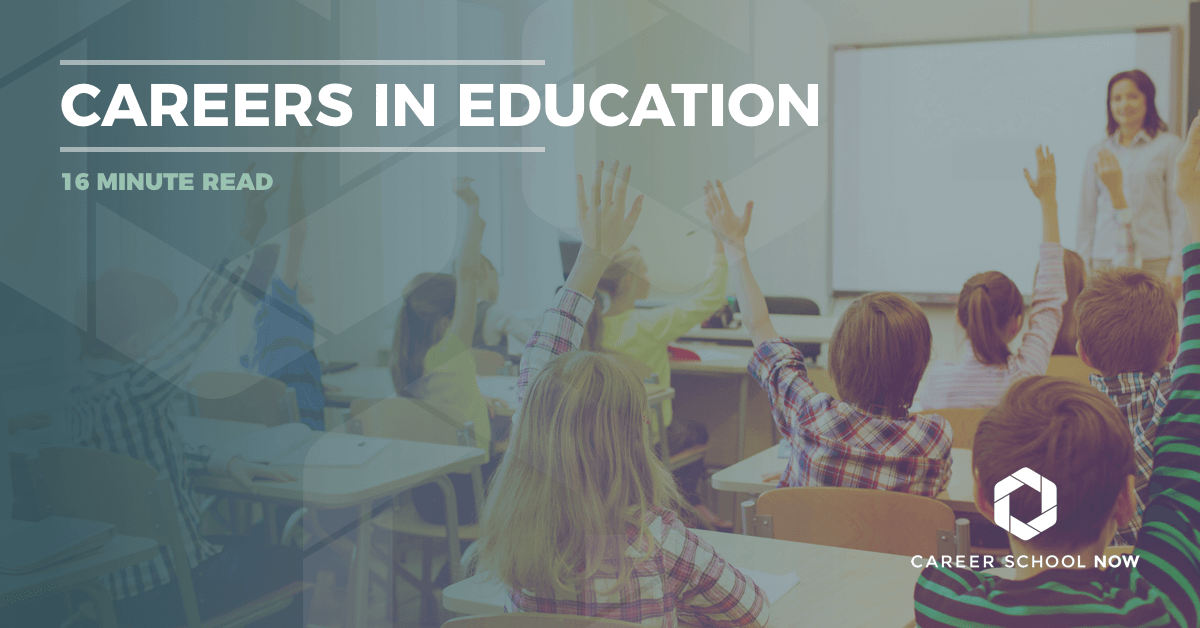 Careers in education-options, education, and more