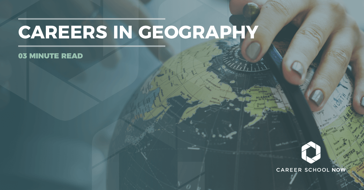 careers in geography