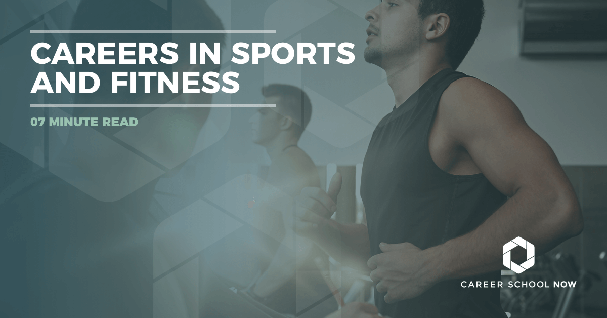 Types of careers in the sports and fitness industry