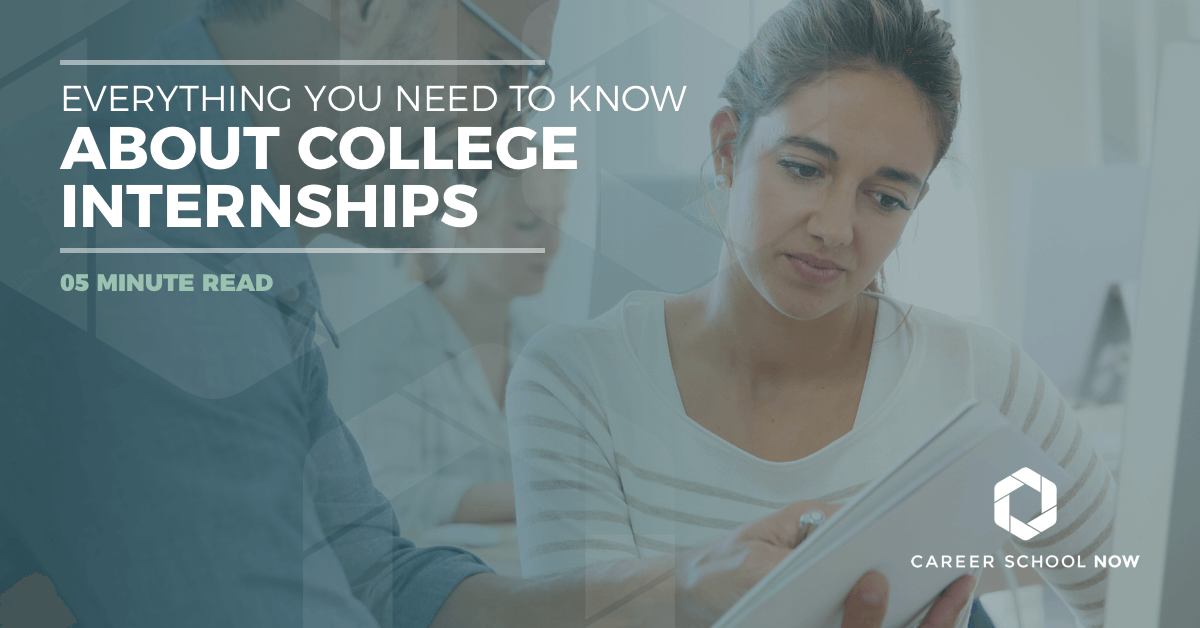 What you need to know about college internships