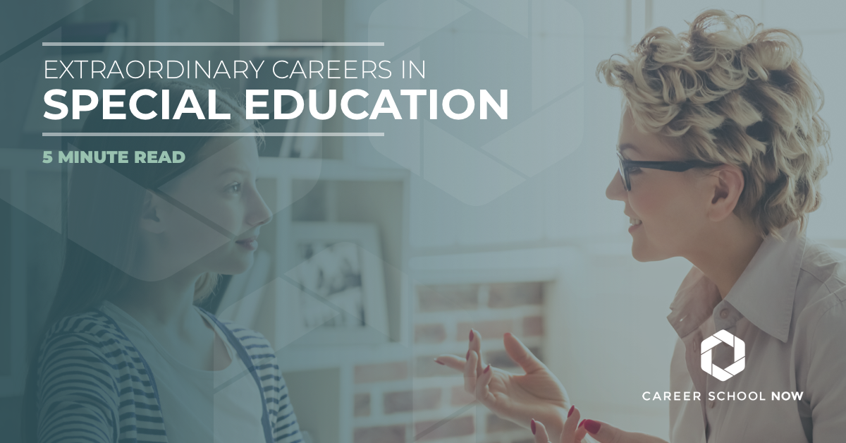 Extraordinary careers in special education