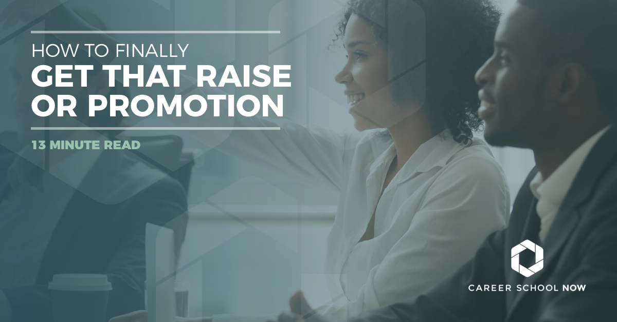 how to get that raise or promotion