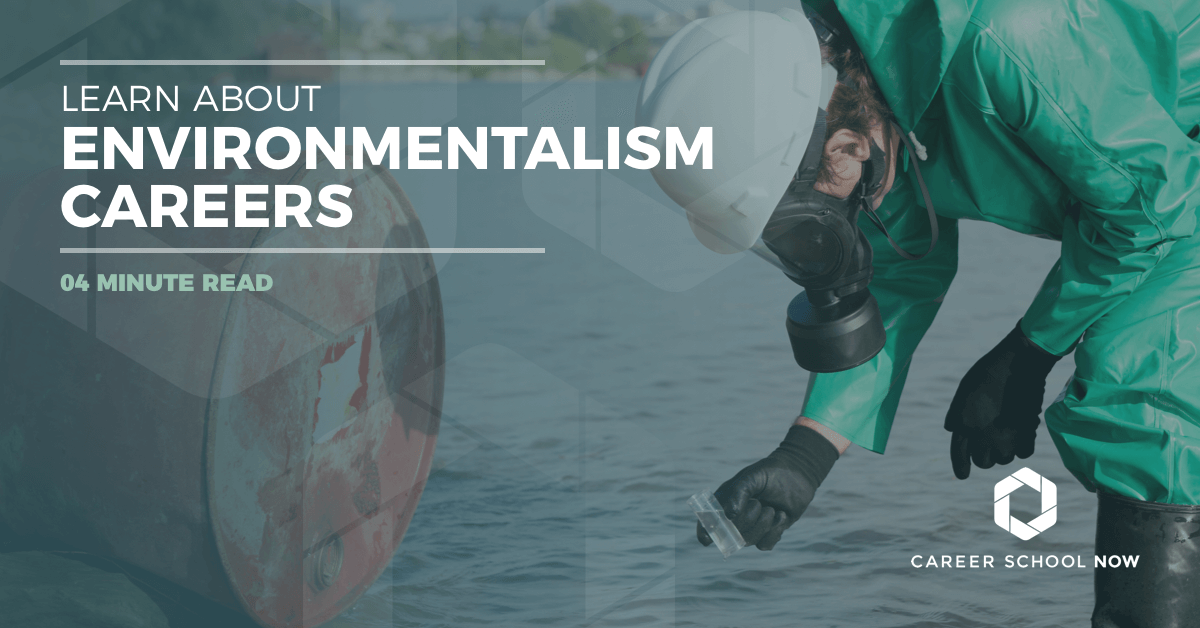 careers in environmentalism