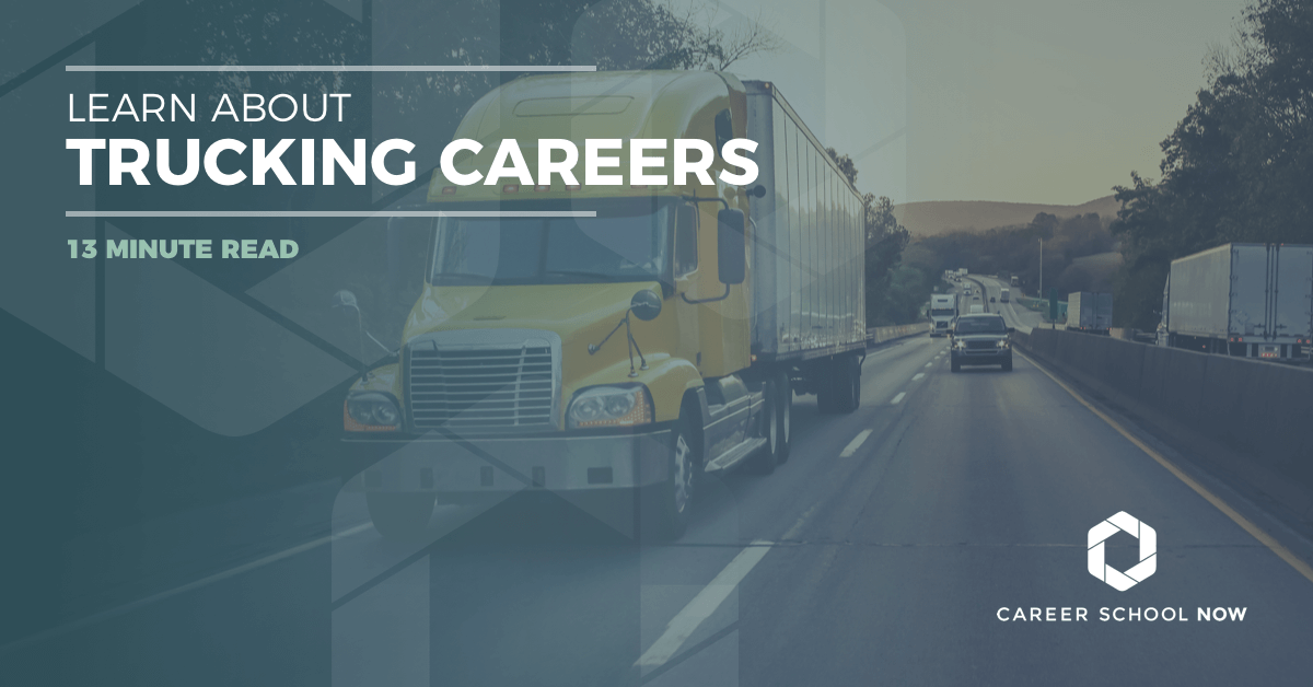 How to become a truck driver--Careers in truck driving