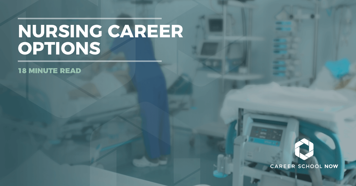 Different types of nursing careers