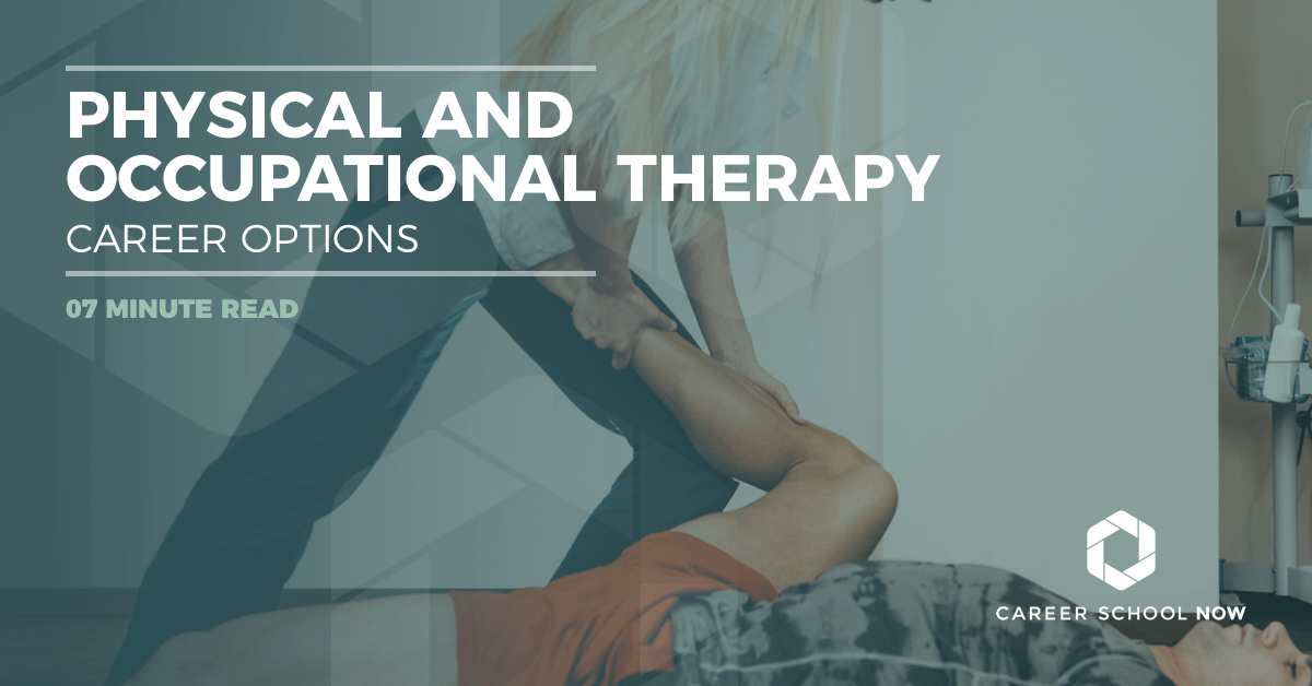 physical therapy and occupational therapy career options