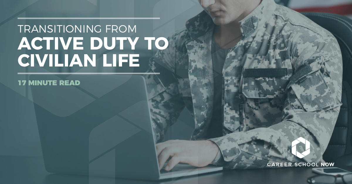 Transitioning from active duty to civilian life-tips and advice