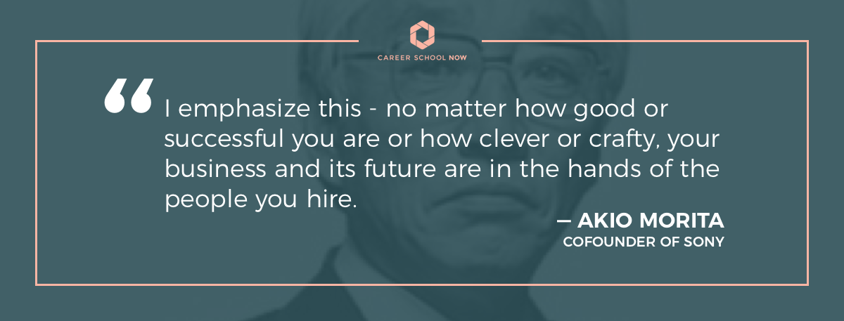akio morita quote-article how to become a human resource manager
