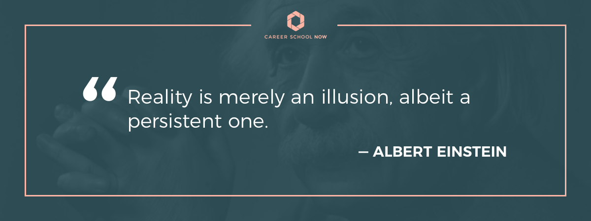 Albert Einstein quote-architect career