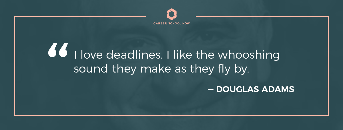 Douglas Adams quote-How to become a technical writer article