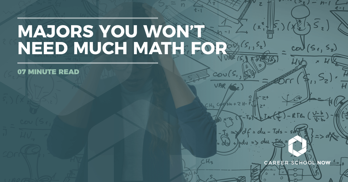 Majors You Won\'t Need Much Math For