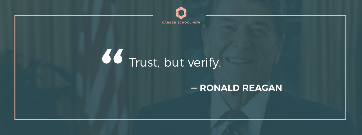 ronald regan quote how to become a detective