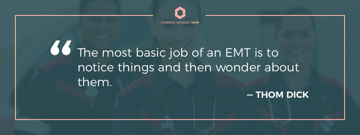 Becoming An Emt Emergency Medical Technician Career Information