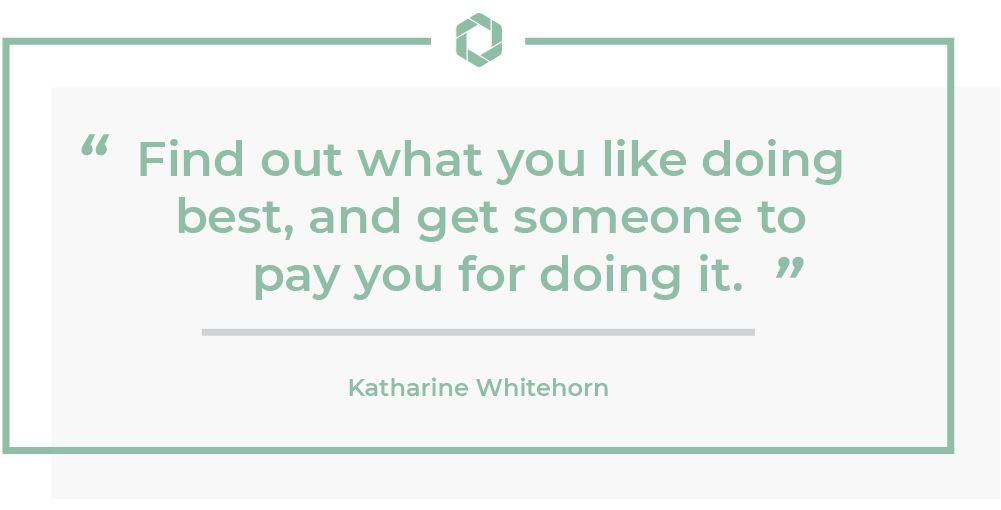 Katharine Whitehorn Quote
